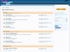 Teenmodel.pw site ranking history