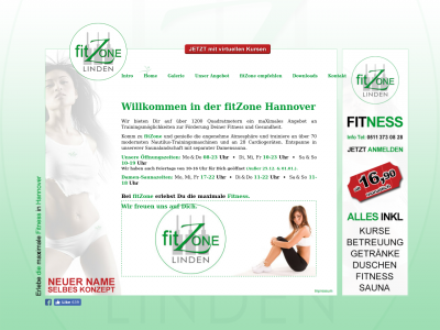Fitmax Hannover hebammerei hannover de site ranking history