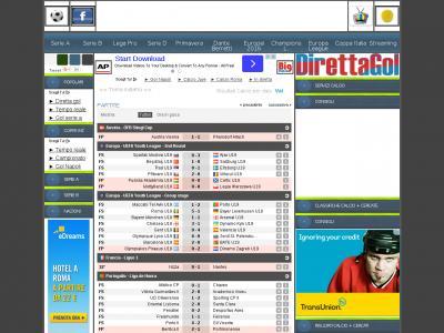 Direttagol It Site Ranking History