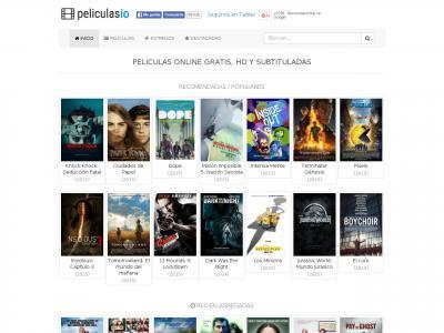Peliculasio Com Site Ranking History