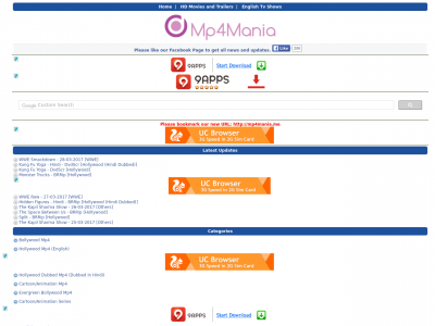 Mp4mania Live Site Ranking History
