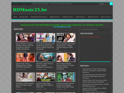 Bdmusic25 xyz site ranking history