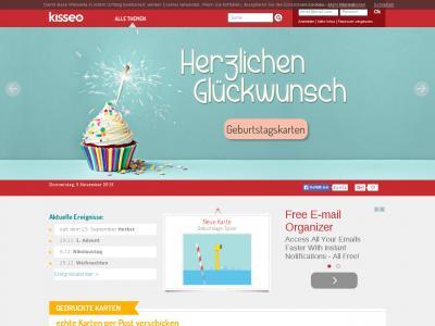 Site ranking history - Kisseo weihnachtskarten ...